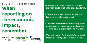 Tips on reporting on economic impact