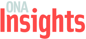 Logo image of the Online News Association's 2021 Insights journalism conference