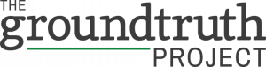 Logo for The GroundTruth Project, a nonprofit journalism organization